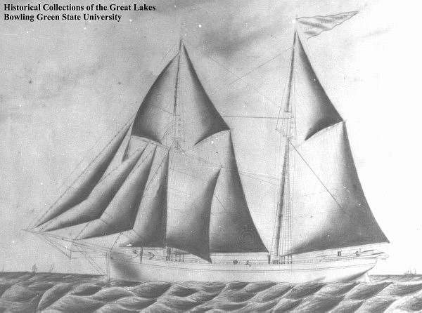 Typical 1871 schooner
