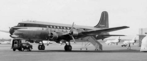 Northwest Airlines DC4