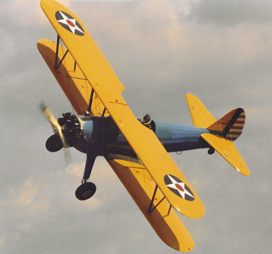 Boeing PT17 Stearman similar to the one lost in 1946