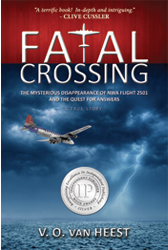 "Click hear to order the book ""Fatal Crossing"" by Valerie van Heest, the expert on Flight 2501!"