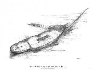 William Tell drawing by Robert Doornbos
