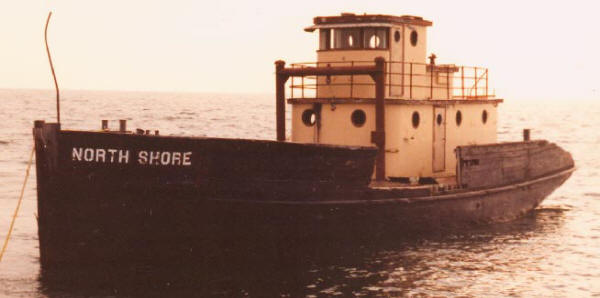 The tug North Shore